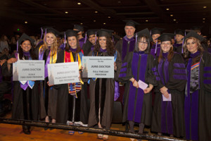 Graduates at Southwestern's 2016 Commencement
