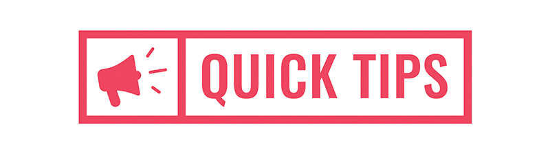 Image - quick tips