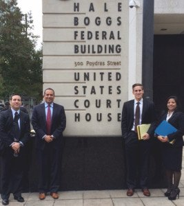 Southwestern Earns Second Place Brief at 21st Annual Tulane Mardi Gras Sports Law Invitational Moot Court Competition