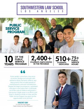 Image - Public Service Program Flyer