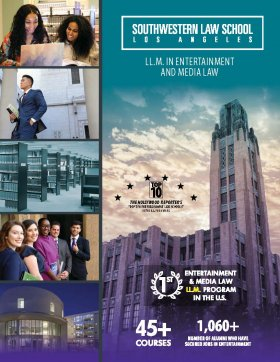 Entertainment and Media Law LL.M. Brochure 2020