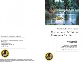 Environment and Natural Resources Division Recruiting Brochure