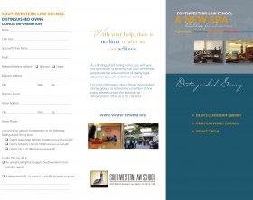 Distinguished Giving Brochure