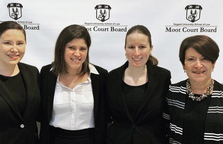 Image - Moot Court Team Hassell