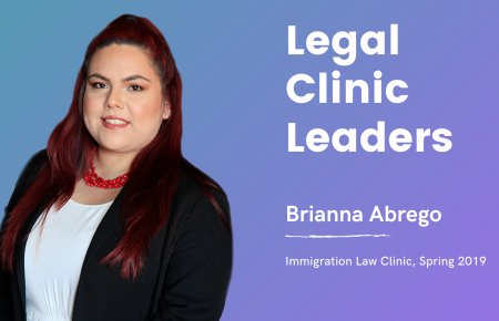 Image - Legal Clinic Leader Brianna Abrego