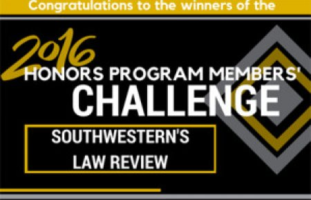 2016 Honors Program Member Challenge