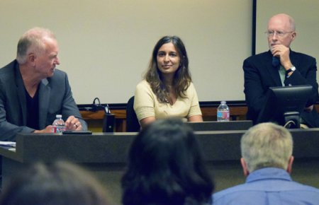 Professors Knipprath, Rakmachandran and Grimes debate major issues in the U.S. Supreme Court October 2016