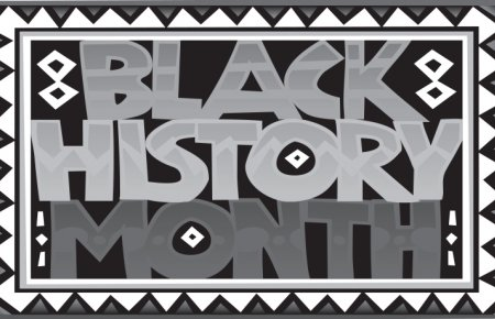 Image - Black History Month Text