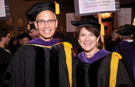 2018 Grand Marshals Professors Heilman and Carpenter
