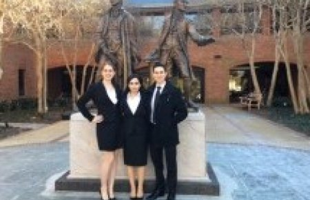 Team wins best brief at William B. Spong, Jr. Invitational Moot Court Tournament