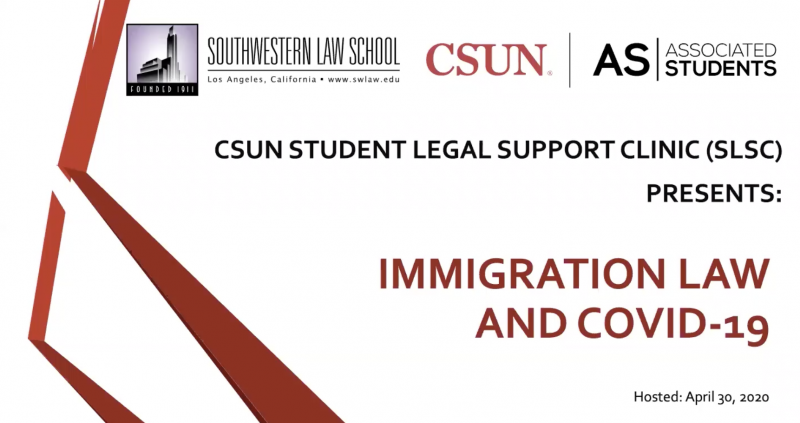 Image - Advanced Community Lawyering Clinic CSUN Presentation Webinar
