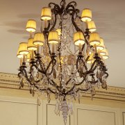 Louis XVI room chandelier