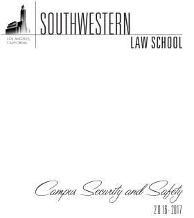 Publication Campus Safety Brochure